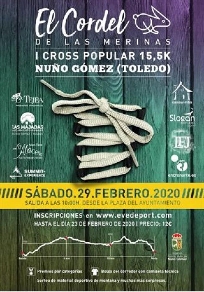 I CROSS POPULAR EL CORDEL DE LA MERINAS - Toledo - 2020
