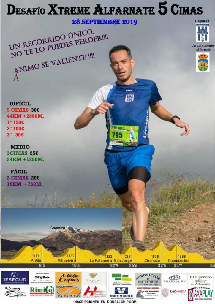 I Desafio Xtreme Alfarnate 5 Cimas - Málaga - 2019