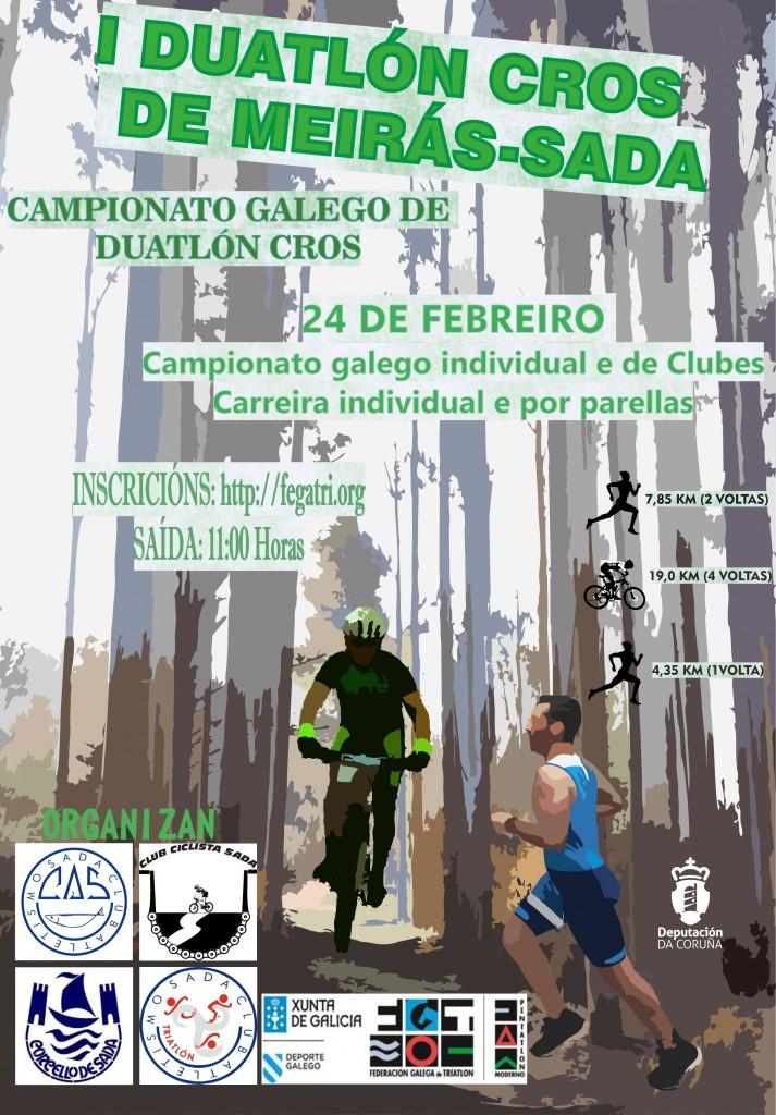 I DUATLON CROS DE MEIRÁS-SADA/CTO GALEGO 2019 - A Coruña