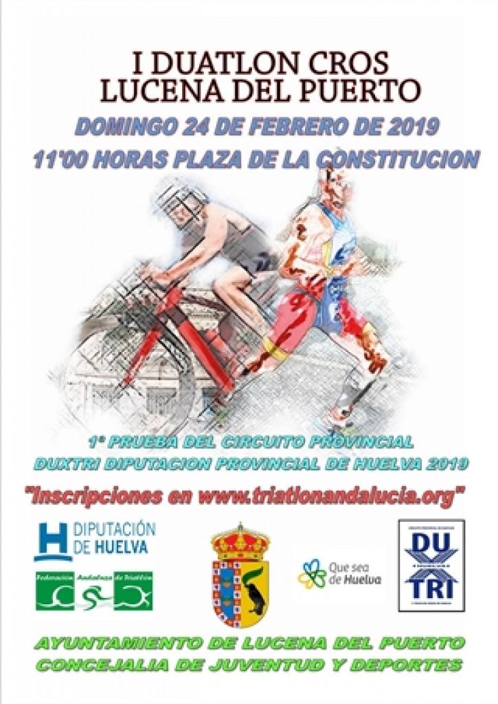 I DUATLÓN CROS LUCENA DEL PUERTO - Huelva - 2019