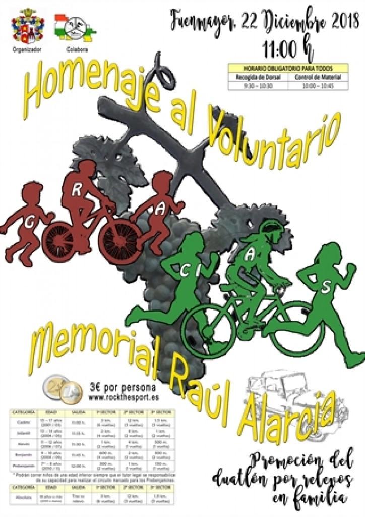 I Jornada de Multideporte Familiar: Homenaje al Voluntario – Memorial Raúl Alarcia - La Rioja - 2018
