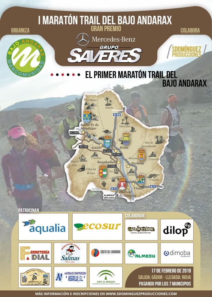 I MARATON TRAIL DEL BAJO ANDARAX - Almeria - 2019