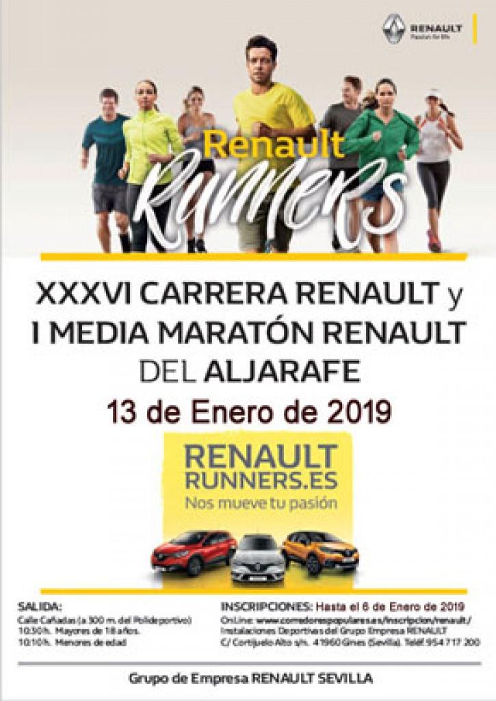 I MEDIA MARATON RENAULT DEL ALJARAFE - Sevilla - 2019