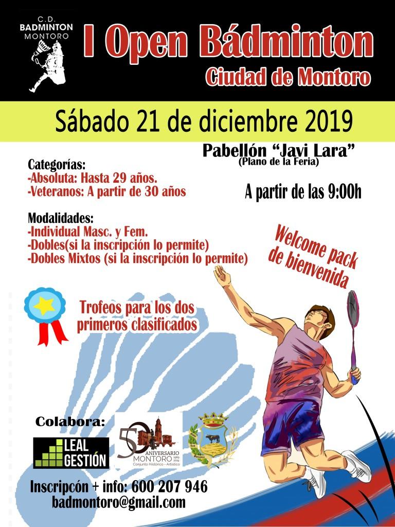 I Open Bádminton - Ciudad de Montoro