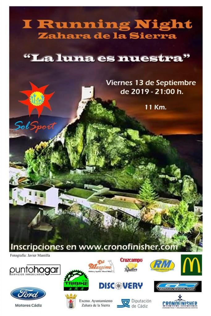 I Running Night Zahara - Cádiz - 2019