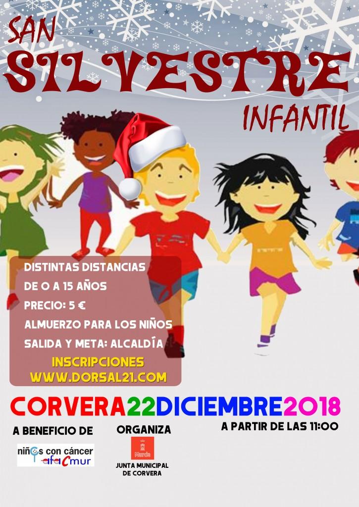 I SAN SILVESTRE INFANTIL CORVERA - Murcia - 2018