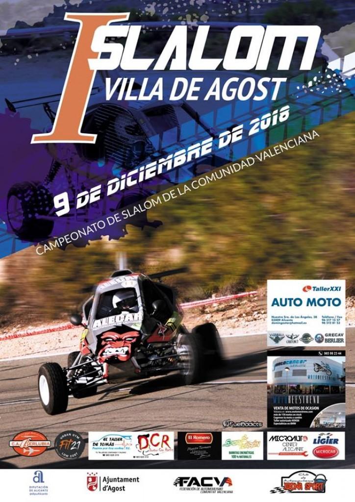 I SLALOM VILLA DE AGOST - Alicante - 2018
