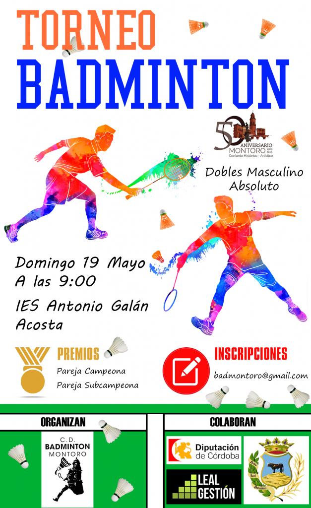 I Torneo Mayo de Bádminton