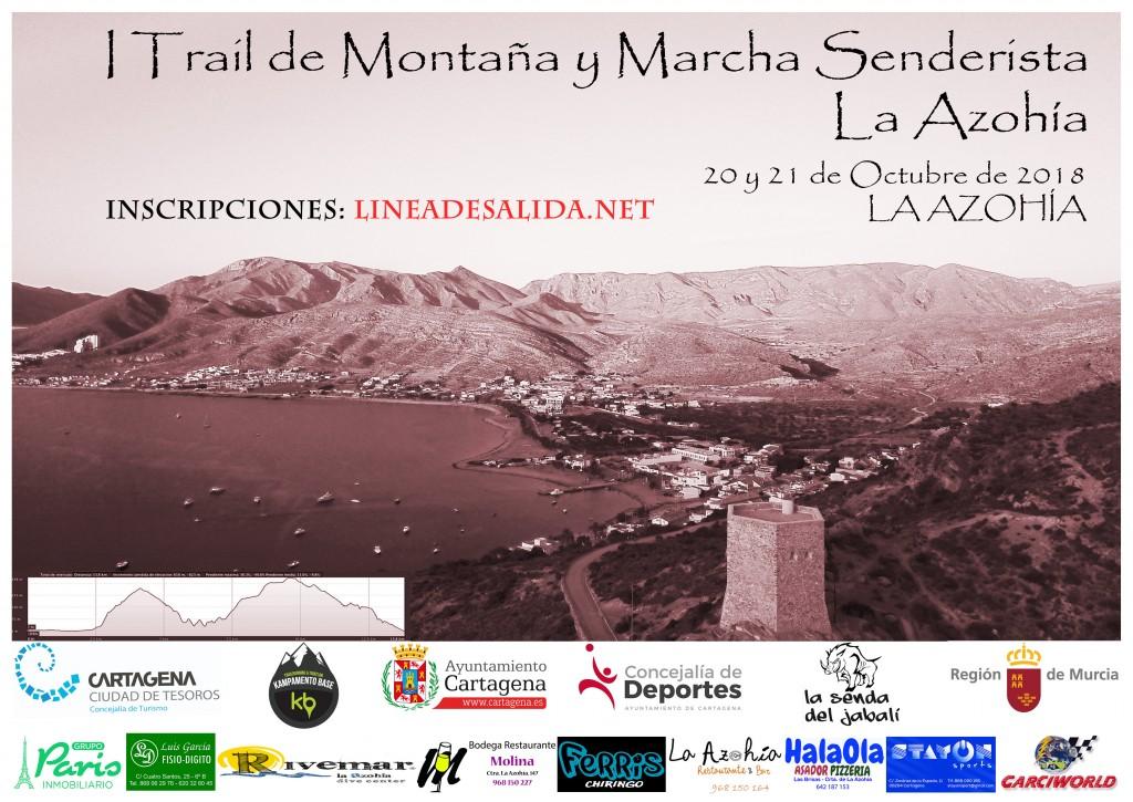 I TRAIL DE MONTAÑA Y I MARCHA SENDERISTA LA AZOHIA