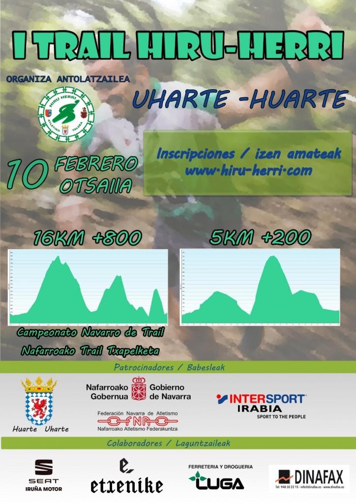 I TRAIL HIRU HERRI - Navarra - 2019