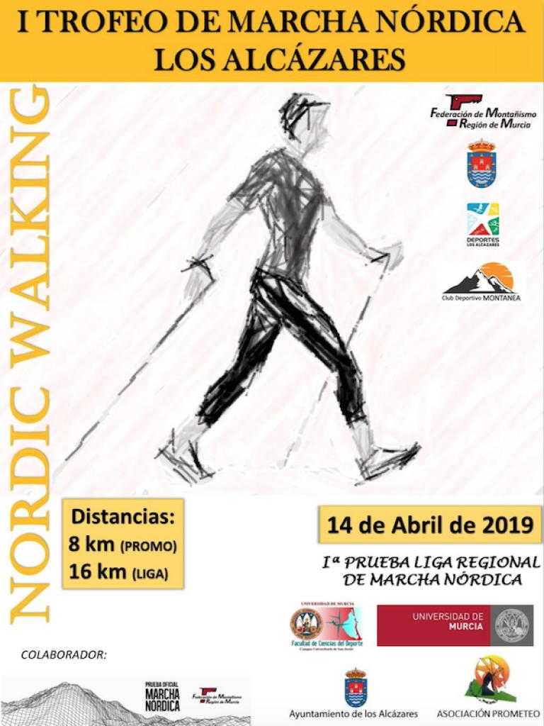 I TROFEO DE MARCHA NÓRDICA LOS ALCÁZARES - Murcia - 2019