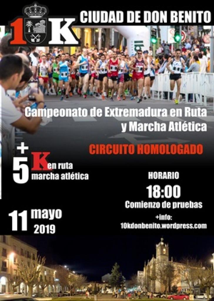 II 10K Ciudad de Don Benito - Badajoz - 2019