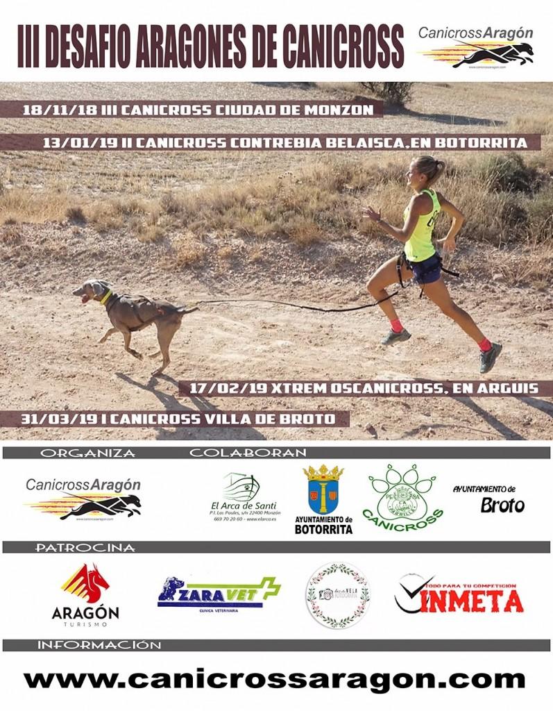 II CANICROSS CONTREBIA BELAISCA - Zaragoza - 2019