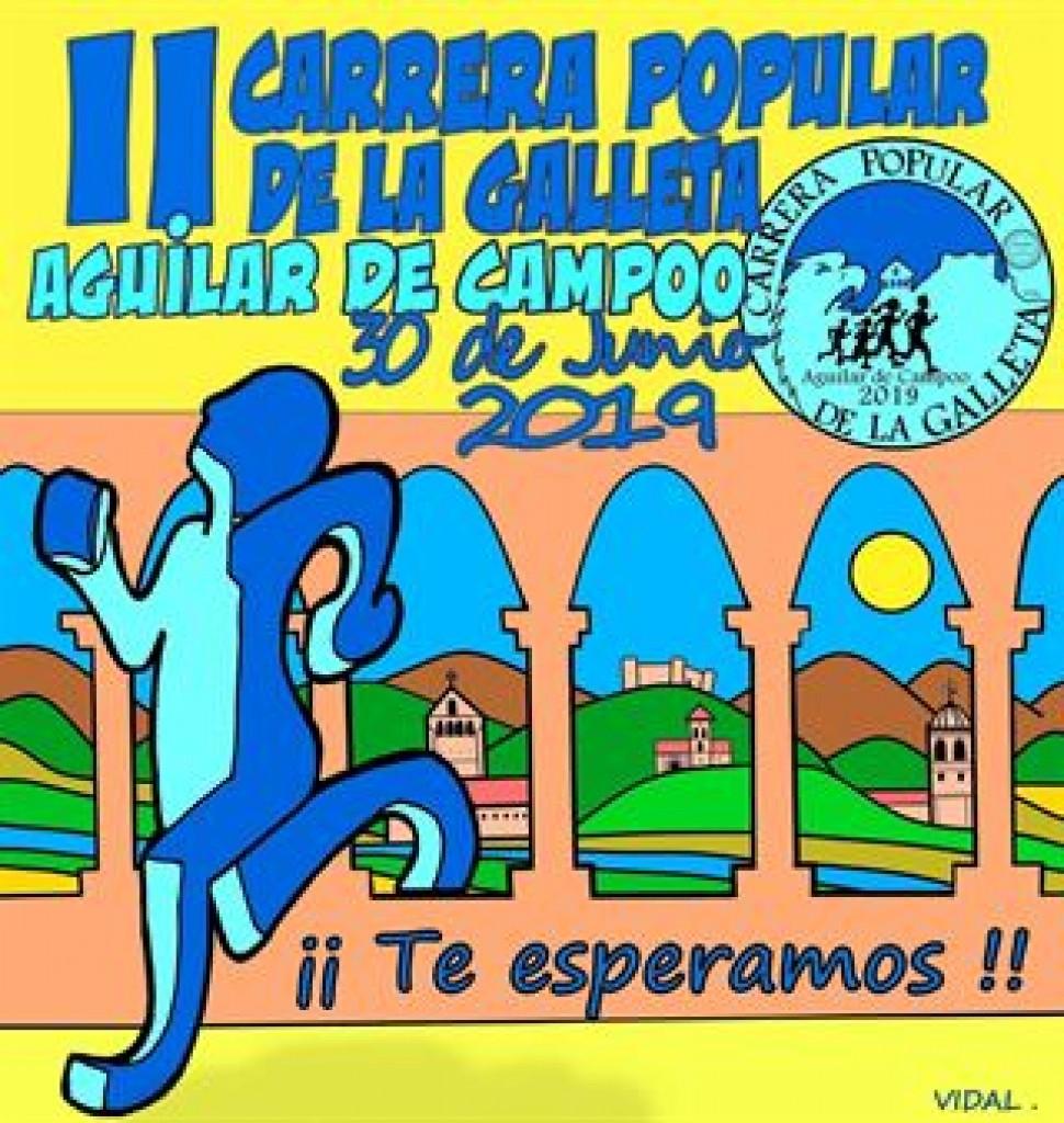 II CARRERA DE LA GALLETA  AGUILAR DE CAMPOO - Palencia - 2019