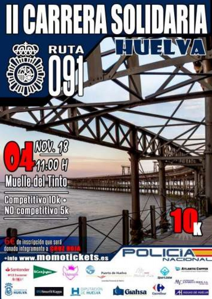 II CARRERA SOLIDARIA POLICIA LOCAL A BENEFICIO DE LA CRUZ ROJA