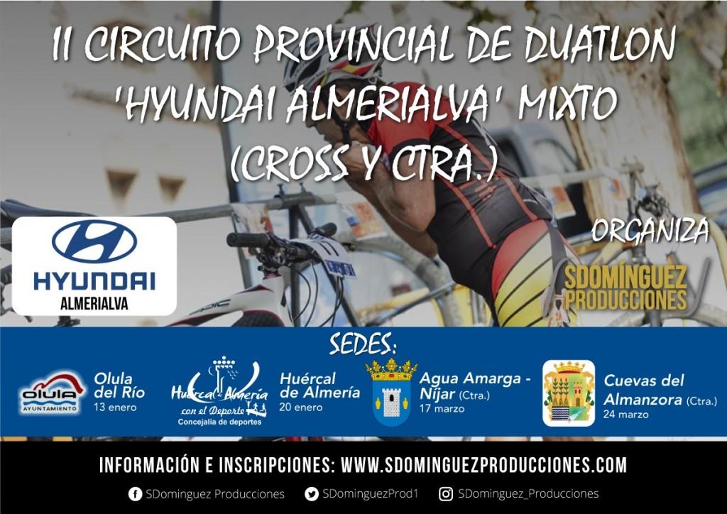II CIRCUITO PROVINCIAL DE DUATLON-CUEVAS DEL ALMANZORA - Almería - 2019