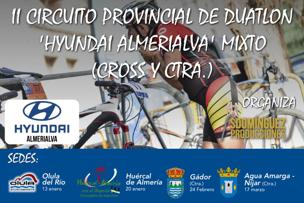 II CIRCUITO PROVINCIAL DE DUATLON-HUERCAL DE ALMERIA - 2019