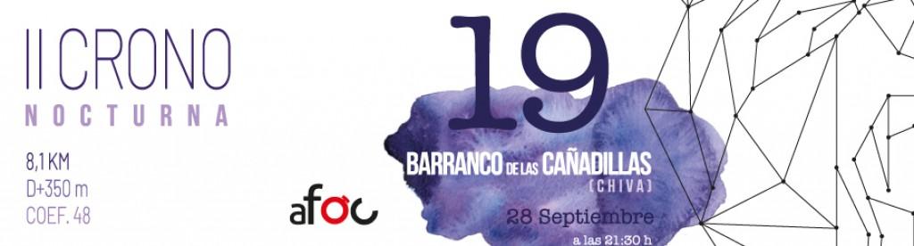 II Crono Nocturna Barranco de las Cañadillas - Valencia - 2019