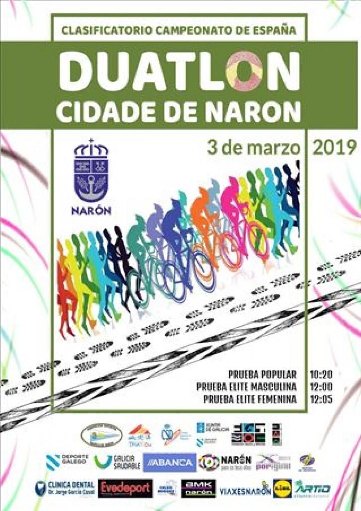 II DUATLON POPULAR CIDADE DE NARON - A Coruña - 2019