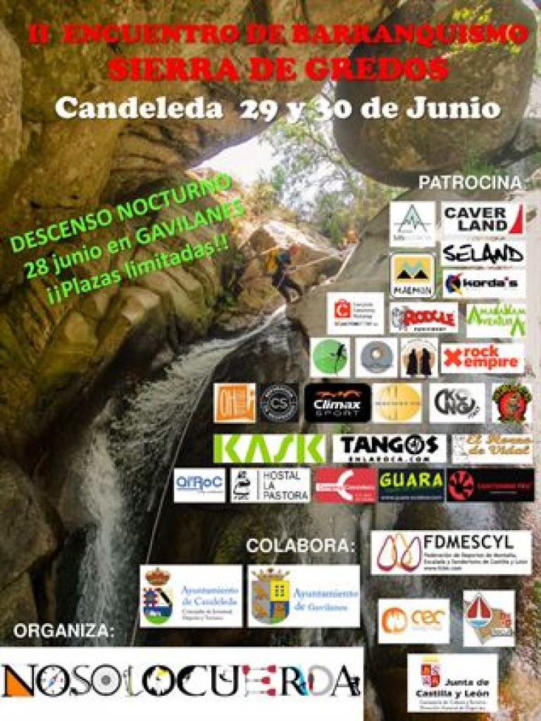 II Encuentro De Barranquismo Sierra de Gredos - Ávila - 2019