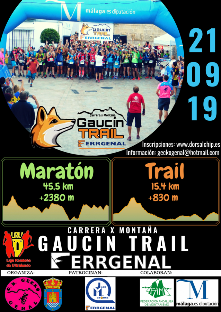II Gaucín Trail FERR-GENAL - Málaga - 2019
