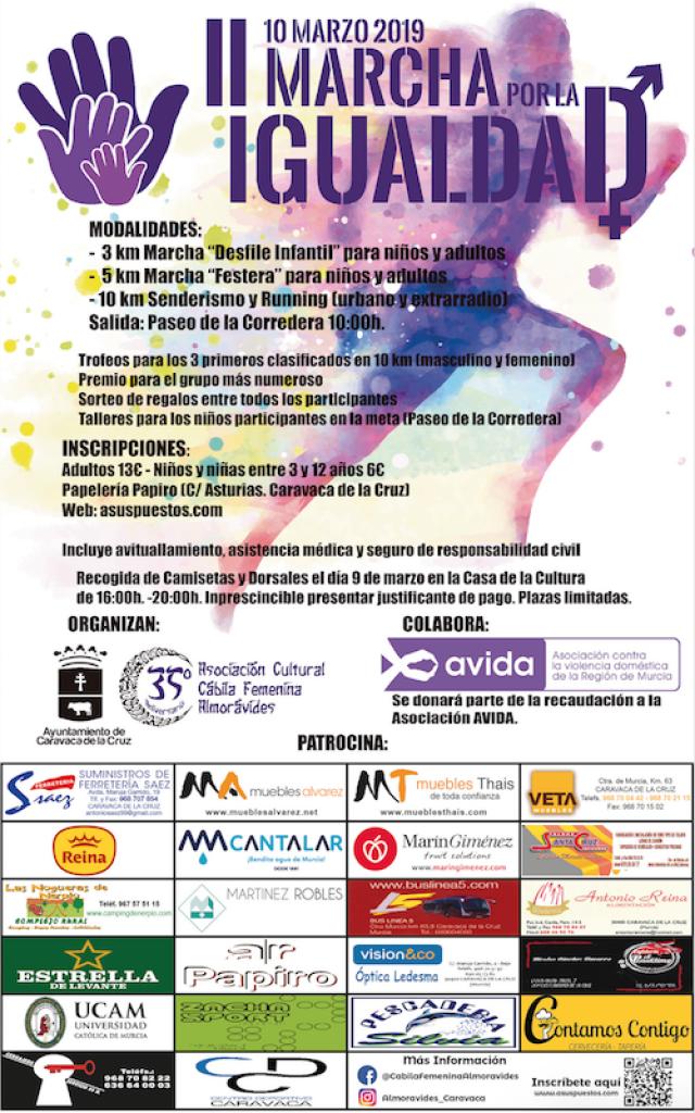 II MARCHA POR LA IGUALDAD - Murcia - 2019