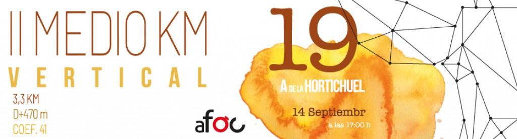 II Medio Km Vertical Aldea de la Hortichuela - Valencia - 2019