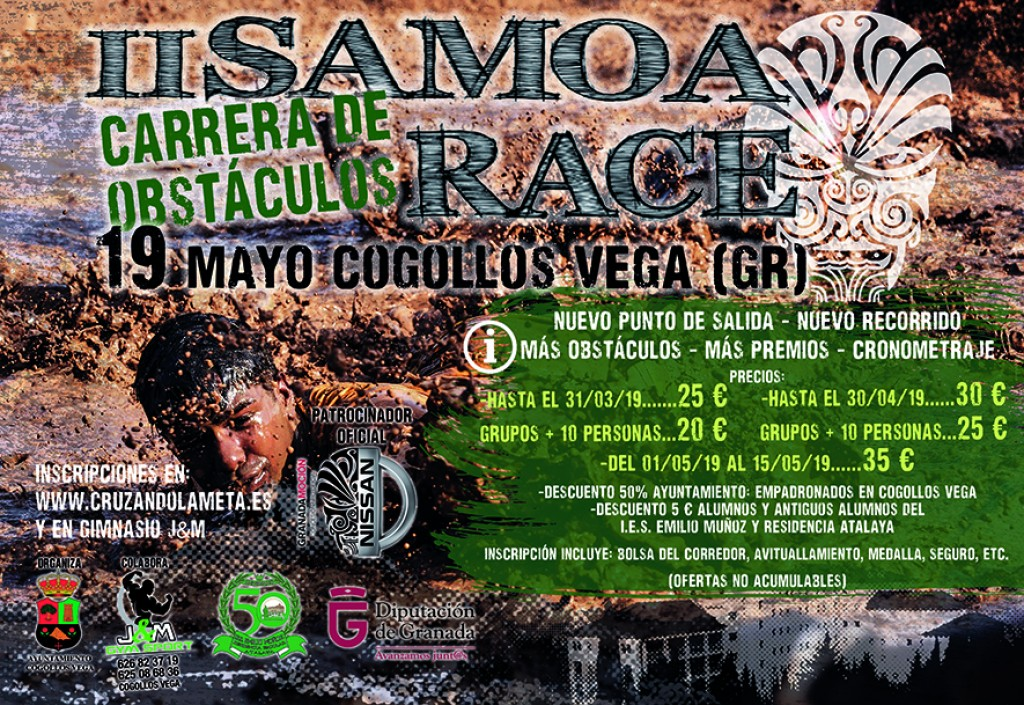 II Samoa Race - Granada - 2019