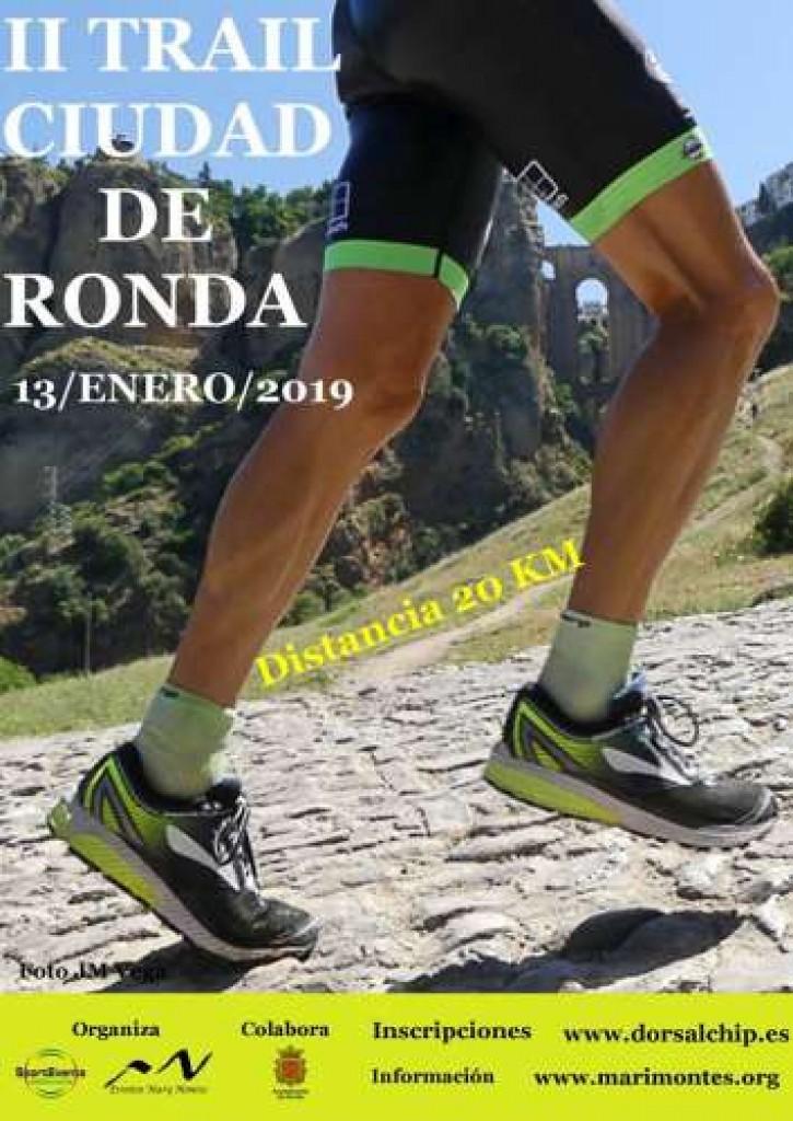 II TRAIL CIUDAD DE RONDA - Malaga - 2019