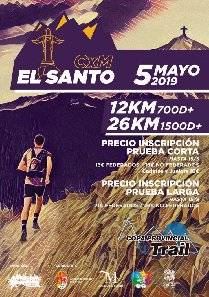 II Trail El Santo de Pizarra 26k - Málaga - 2019
