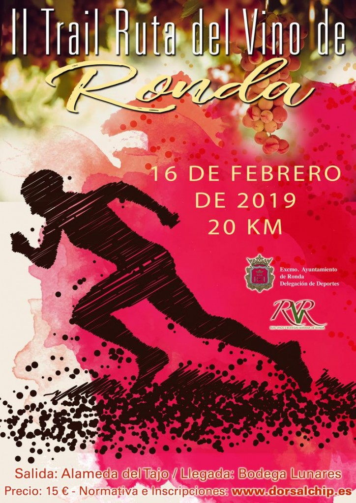 II Trail Ruta del Vino de Ronda - Malaga - 2019