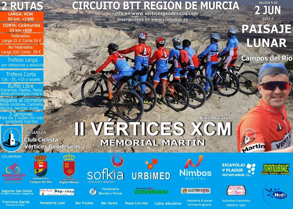 II VERTICES XCM MEMORIAL MARTIN - Murcia - 2019