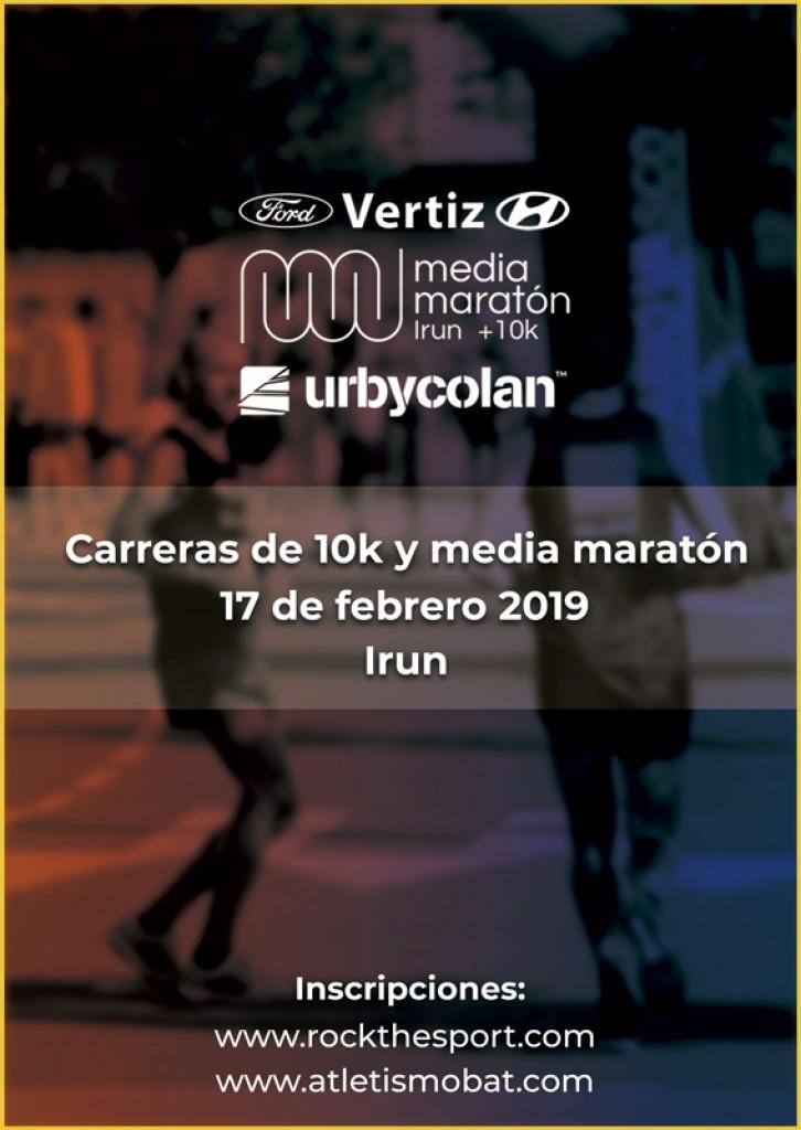 II VERTIZ FORD MEDIA MARATON DE IRUN + 10K - URBYCOLAN - Gipuzkoa - 2019