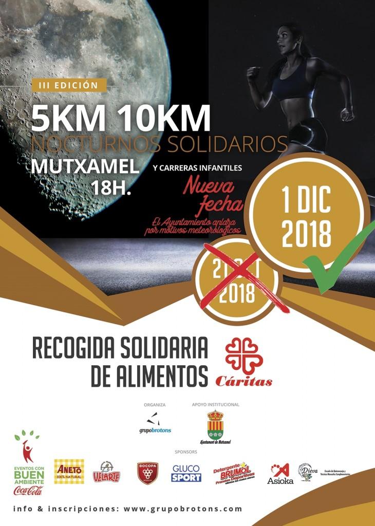 III 5K 10K SOLIDARIOS MUTXAMEL 2018 - Alicante