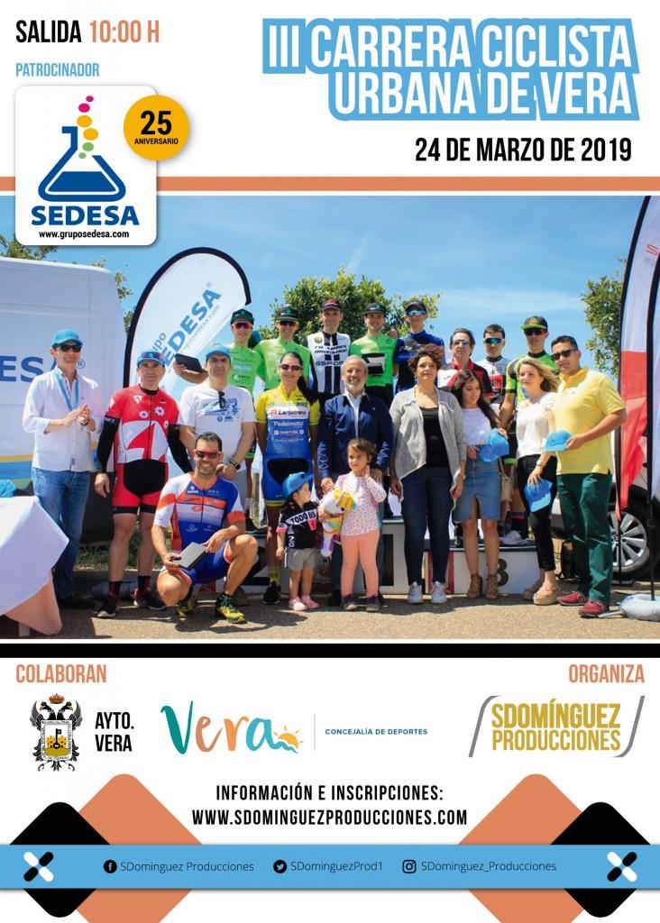 III CARRERA CICLISTA URBANA DE VERA - Almería - 2019