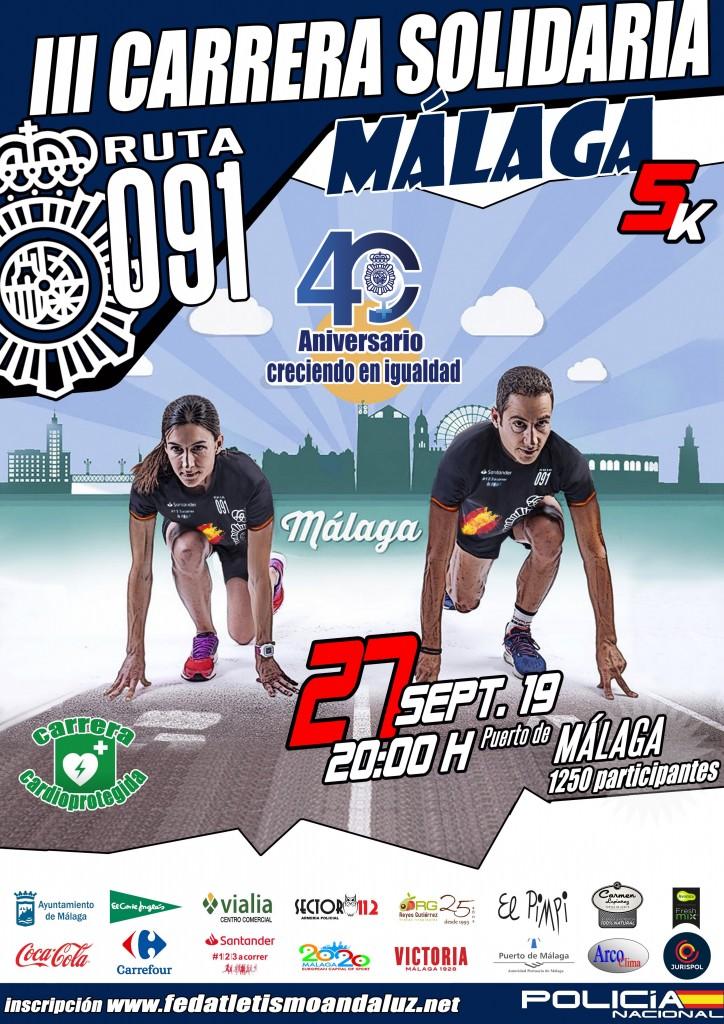 III Carrera CNP Málaga - 2019