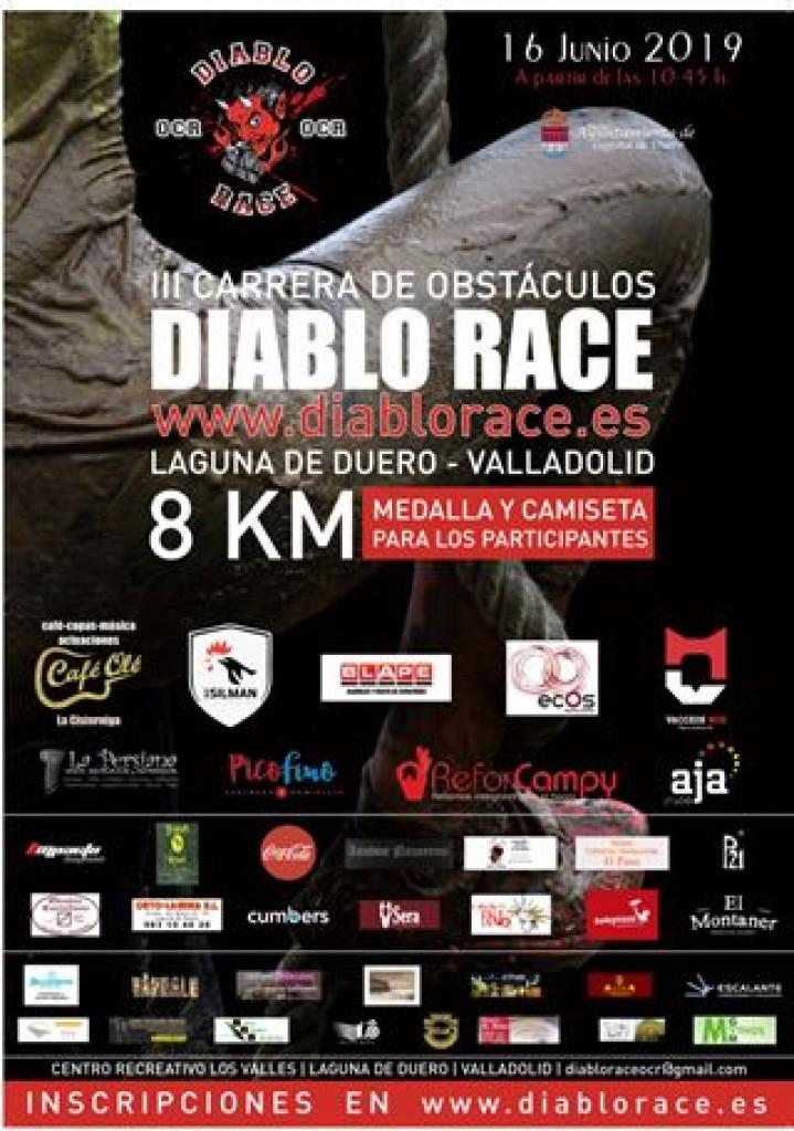 III Carrera de Obstáculos Diablo Race - Valladolid - 2019