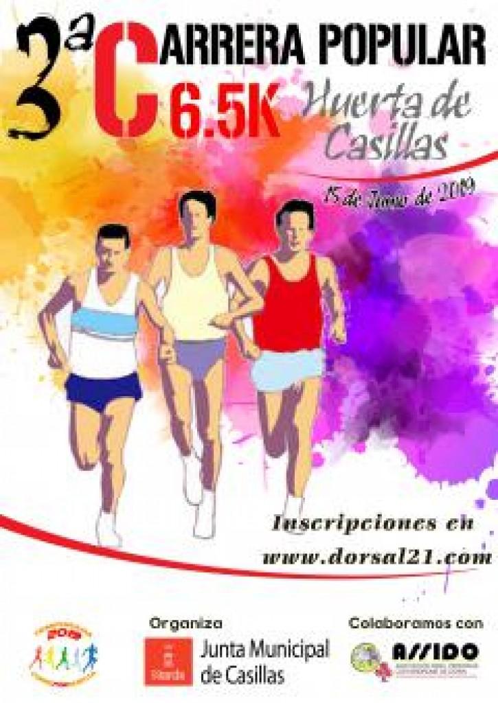 III Carrera popular 6,5K Huerta de Casillas - Murcia - 2019