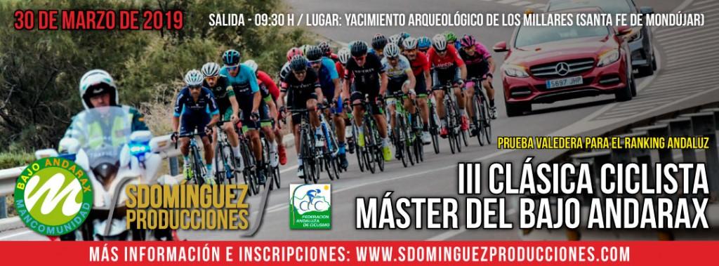 III CLASICA CICLISTA MASTER DEL BAJO ANDARAX - Almería - 2019