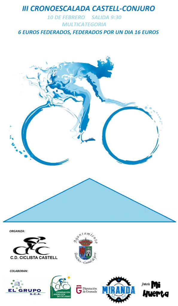 III CRONOESCALADA CASTELL-CONJURO - Granada - 2019