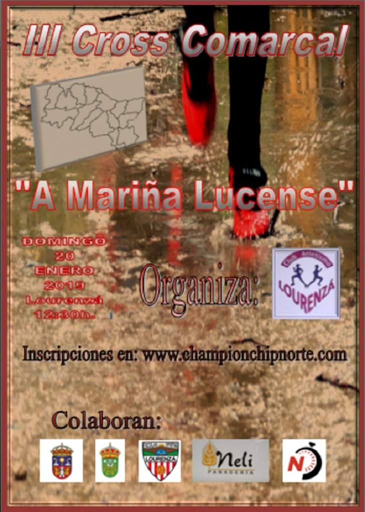 III Cross Comarcal A Mariá Lucense - Lugo - 2019
