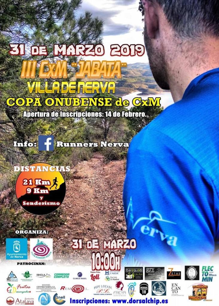 III CxM Jabata Villa de Nerva - Huelva - 2019