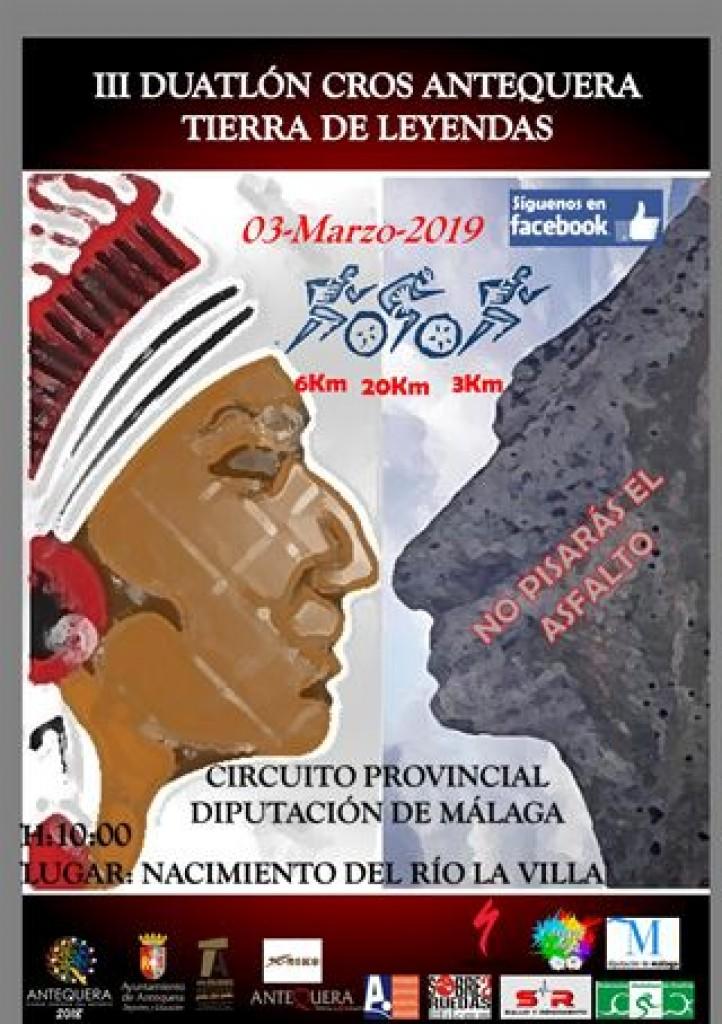 III DUATLÓN CROS DE ANTEQUERA CIUDAD EUROPEA DEL DEPORTE - Málaga - 2019