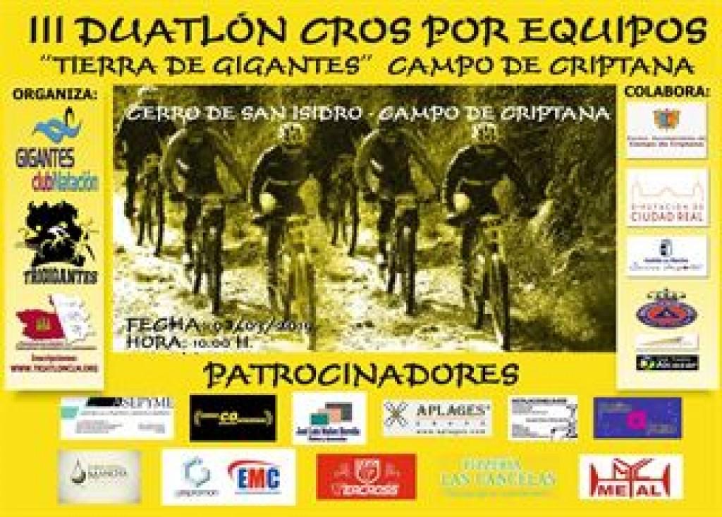 III DUATLON CROS EQUIPOS CRIPTANA - 2019 - Ciudad Real