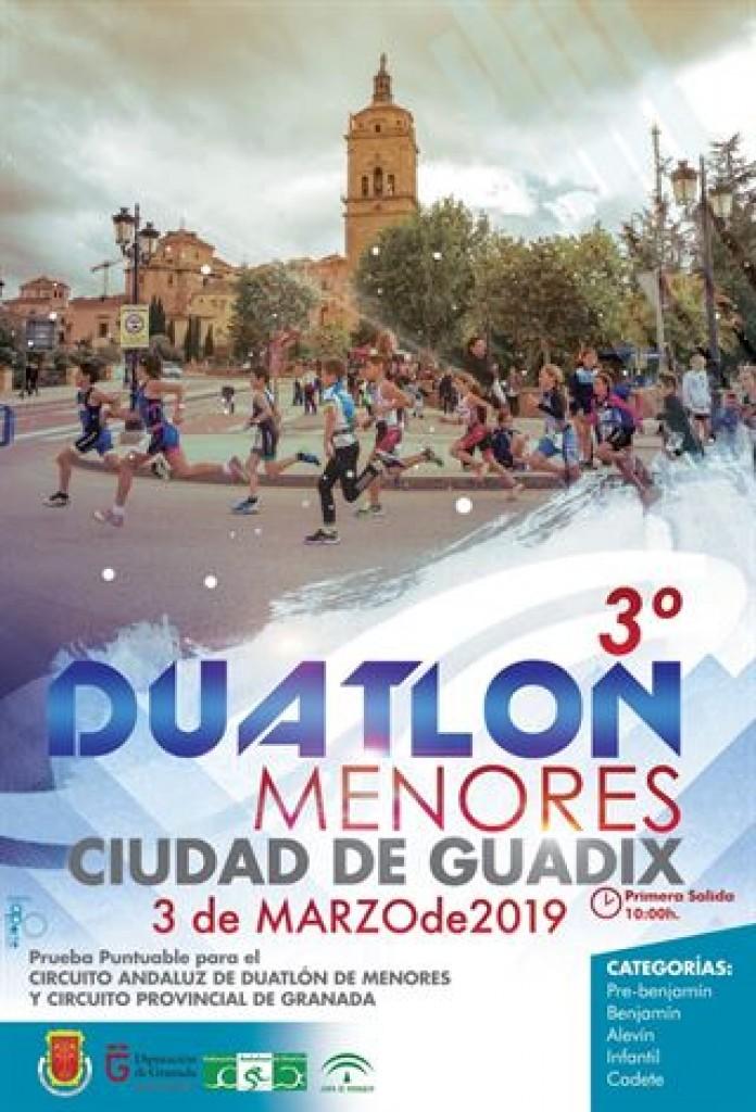 III DUATLÓN DE MENORES CIUDAD DE GUADIX - Granada - 2019