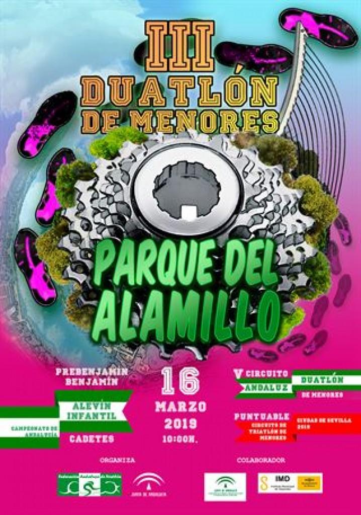 III DUATLÓN DE MENORES PARQUE DEL ALAMILLO - Sevilla - 2019