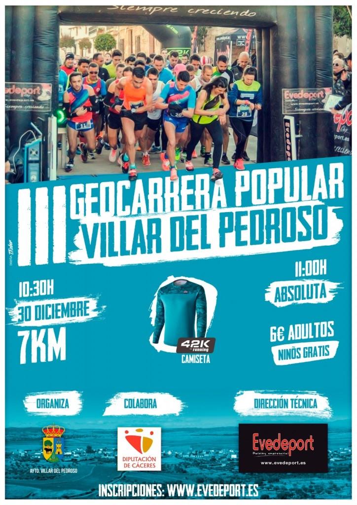 III GEOCARRERA VILLAR DEL PEDROSO - Cáceres