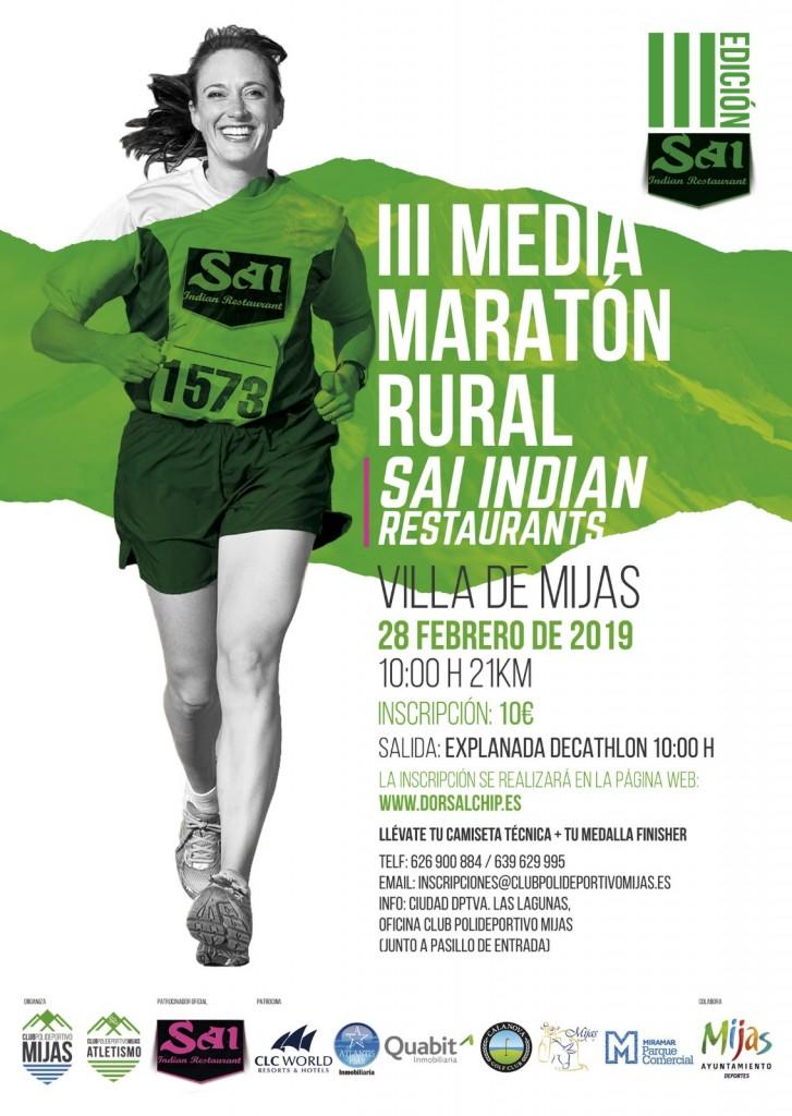III Media Maratón Rural Villa de Mijas - Malaga - 2019