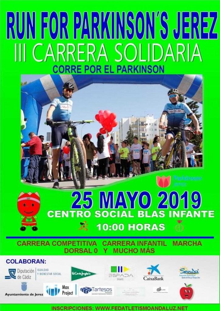 III Run For Parkinson - Cádiz - 2019
