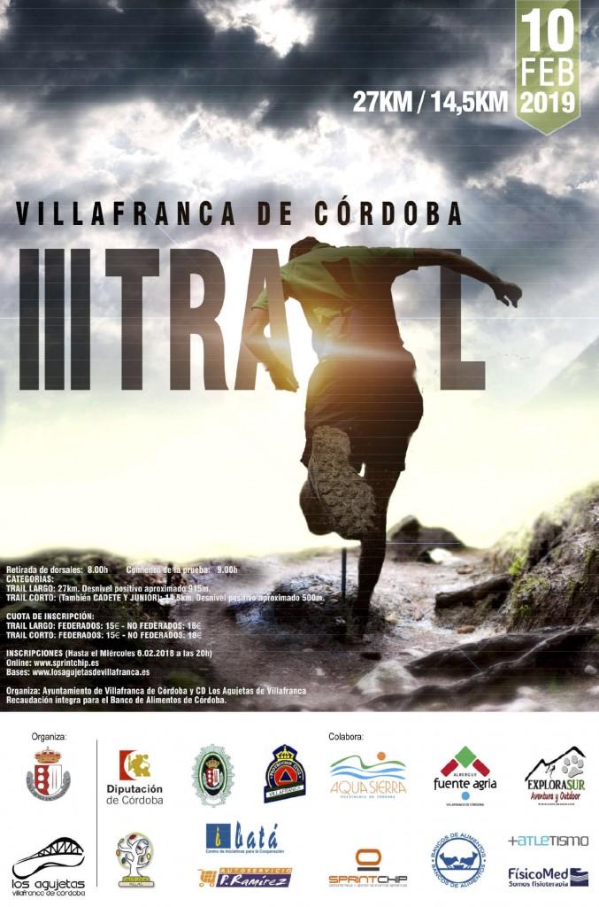 III Trail de Villafranca - Cordoba - 2019